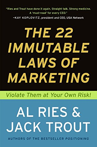 The 22 Immutable Laws of Marketing by Al Ries and Jack Trout Ebook Download