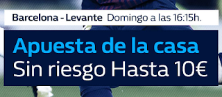 william hill promocion Barcelona vs Levante 7 enero