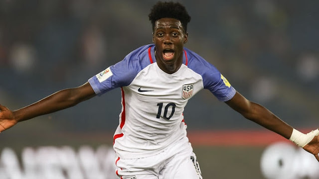 George Weah's son Timothy scores hat-trick in Under-17 World Cup for US