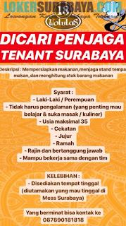 Bursa Kerja Surabaya Terbaru di Retaurant Pujasera Wolulas (18) Juni 2019