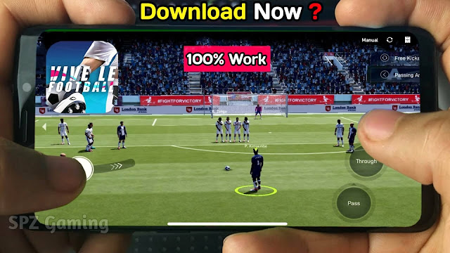 Download Vive Le Football Android Real Faces Ultra Graphics | VLF 2021 Mobile