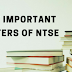 NTSE 2018 Most Important Chapters - Check it out! blog image