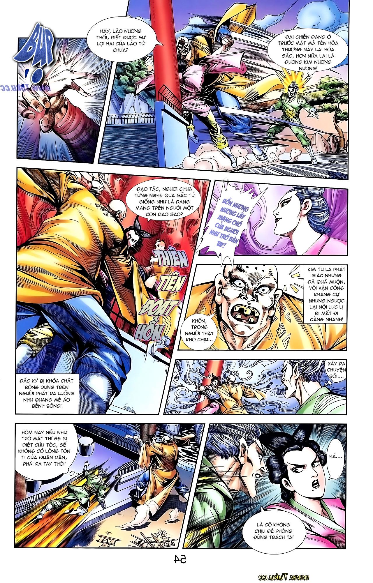 Cơ Phát Khai Chu Bản chapter 137 trang 18