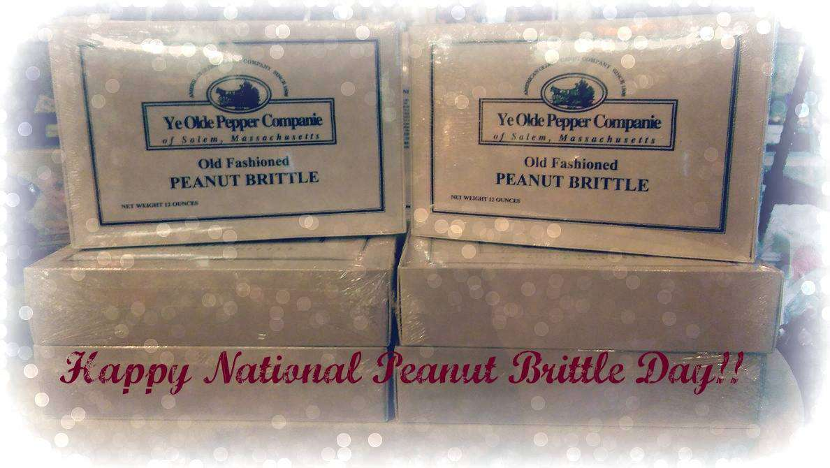 National Peanut Brittle Day Wishes