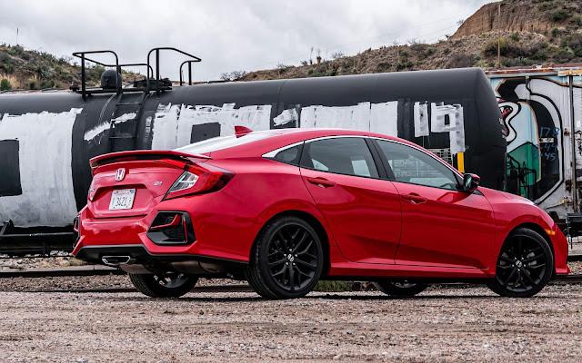 Honda Civic Si Sedan 2020