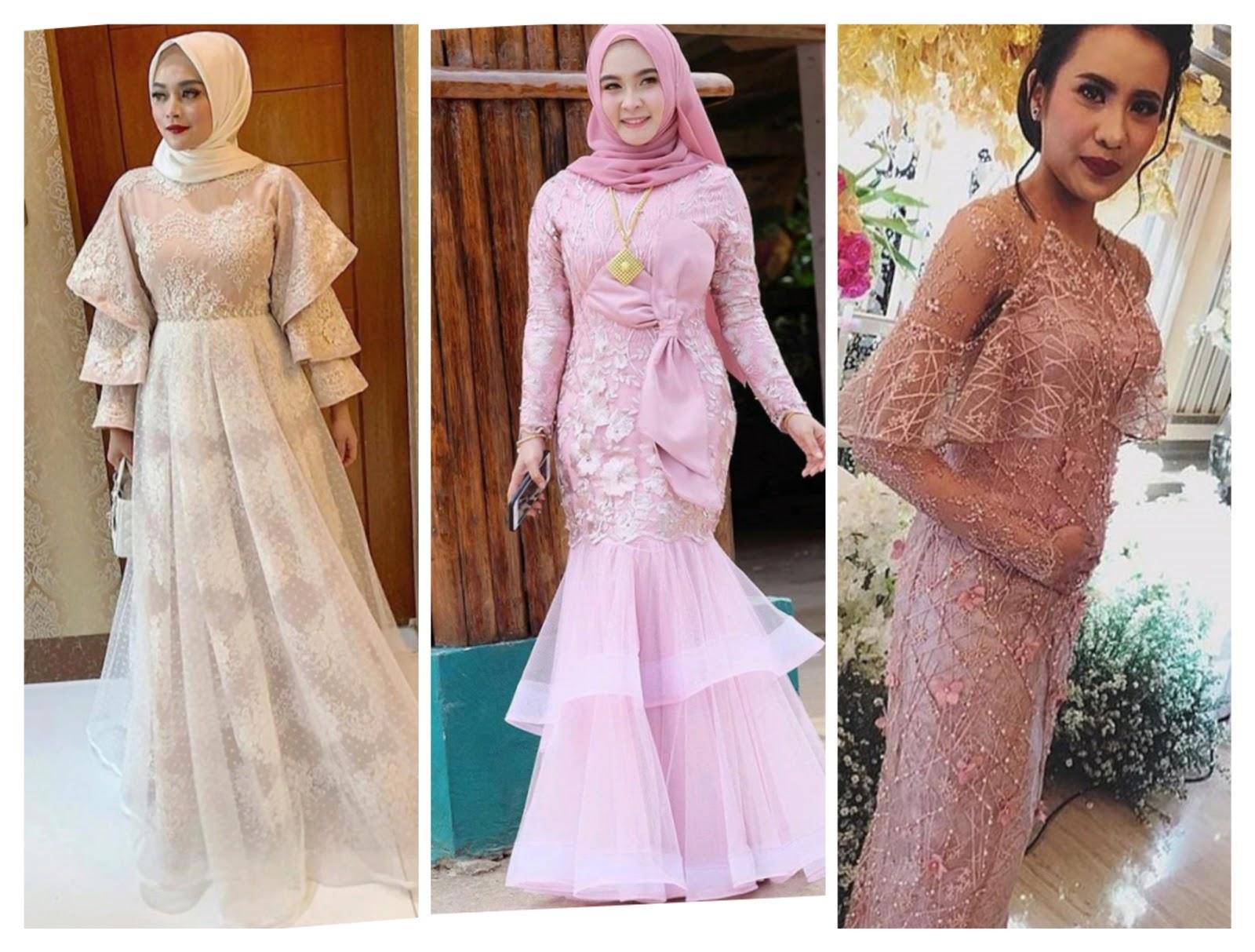 10 Inspirasi Model Dress Brokat Untuk Pesta yang Modern - BLOG