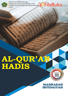Revisi 2019 Buku Al-Quran Hadis Siswa MI Kelas 2-II Kurikulum 2020