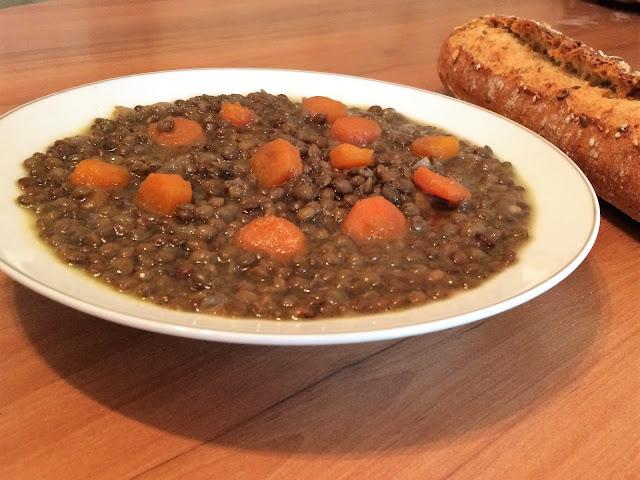 Recettes faciles lentilles vertes aux carottes - Comment cuisiner les lentilles vertes ...
