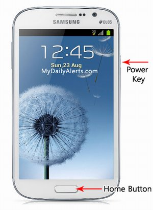 How to take Screenshot in Galaxy Grand Duos i9082