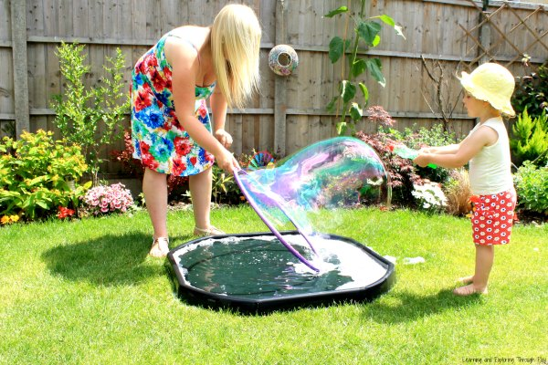 Giant Bubbles Recipe Make your own Giant Bubbles