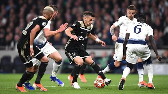 Hasil Liga Champions: Ajax Menang di Markas Tottenham