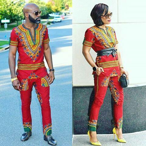 Dressing des 4 Saisons Zuvaa African style Dashiki bordeaux Concours