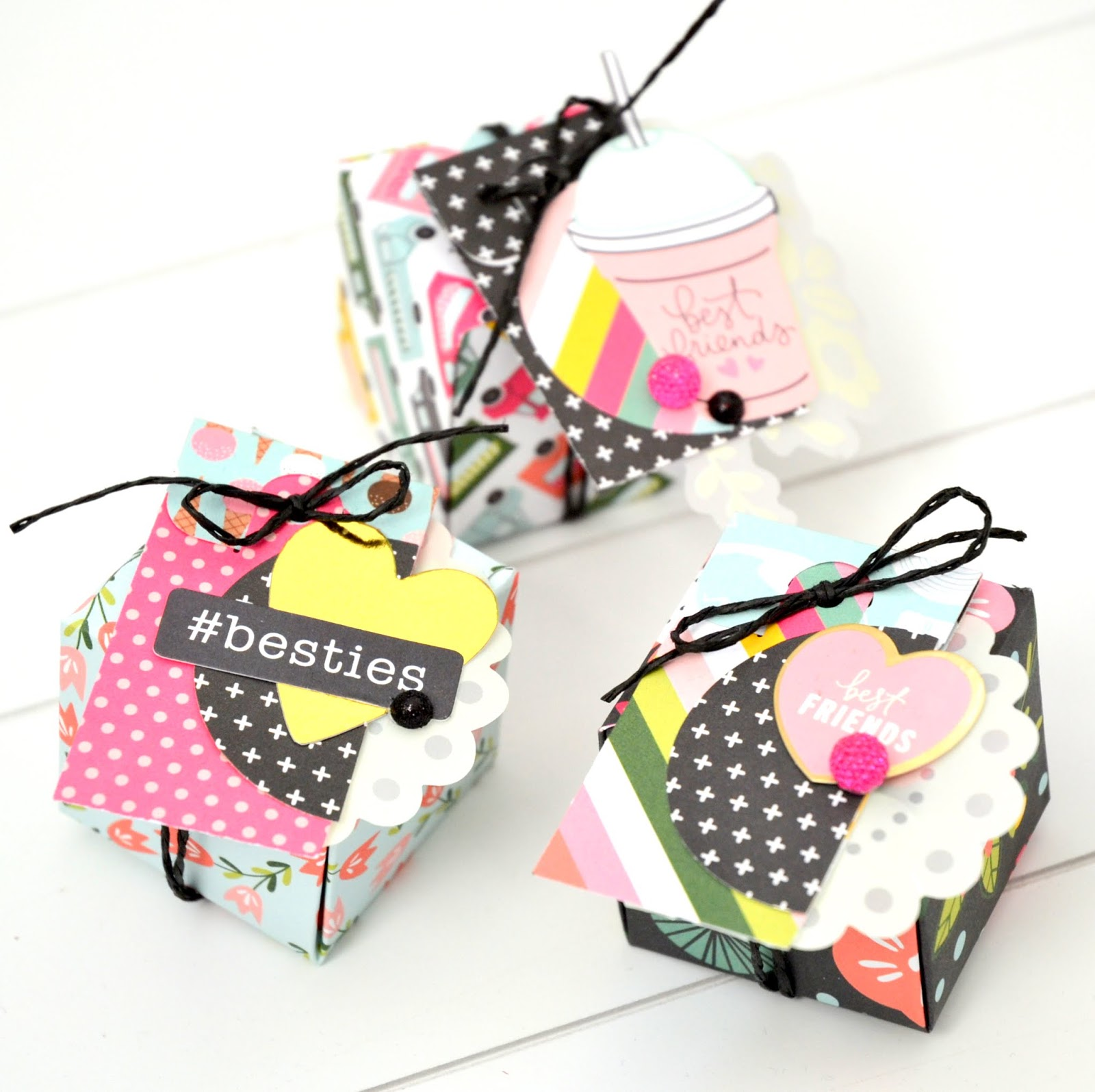 Valentines Day Inspiration Week #2 [Gift Boxes] - the scrappy mermaid