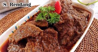 Rendang merupakan salah satu ide menu olahan dari daging kurban khas orang Indonesia