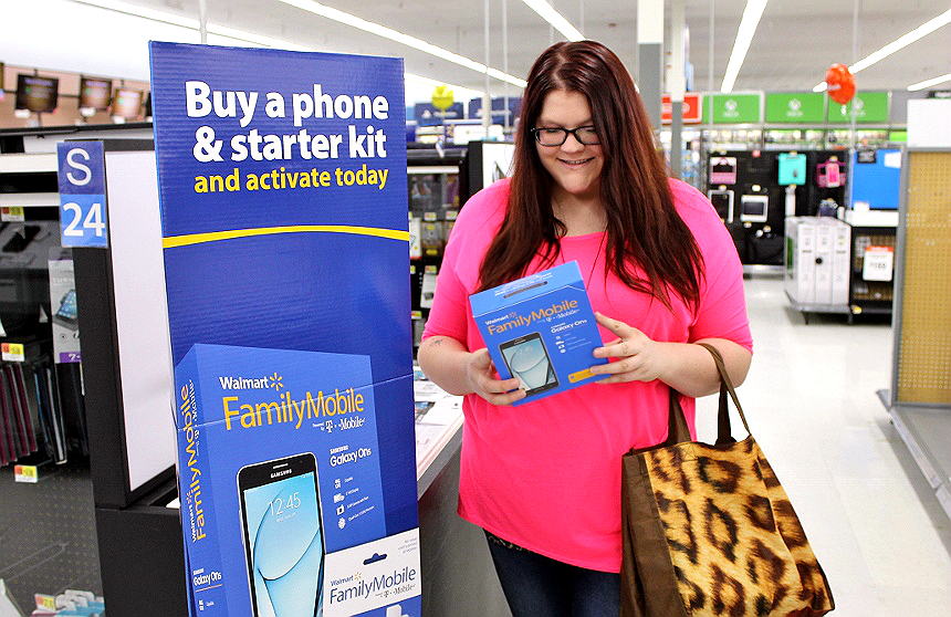 Max #YourTaxCash with the latest smartphone handsets and the amazing Walmart Family Mobile Plus plan, which includes a FREE VUDU movie credit (per line, $7 new release value) each month! #AD