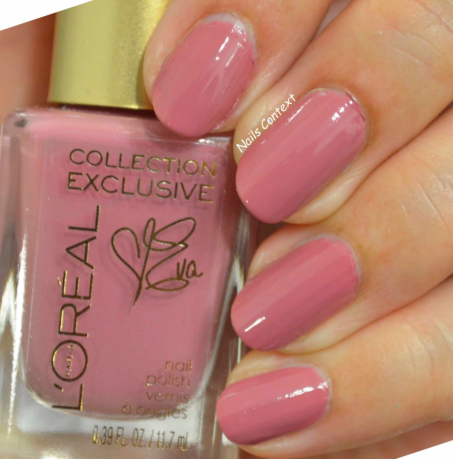 Nails Context: L\'oreal la vie en rose collection swatches