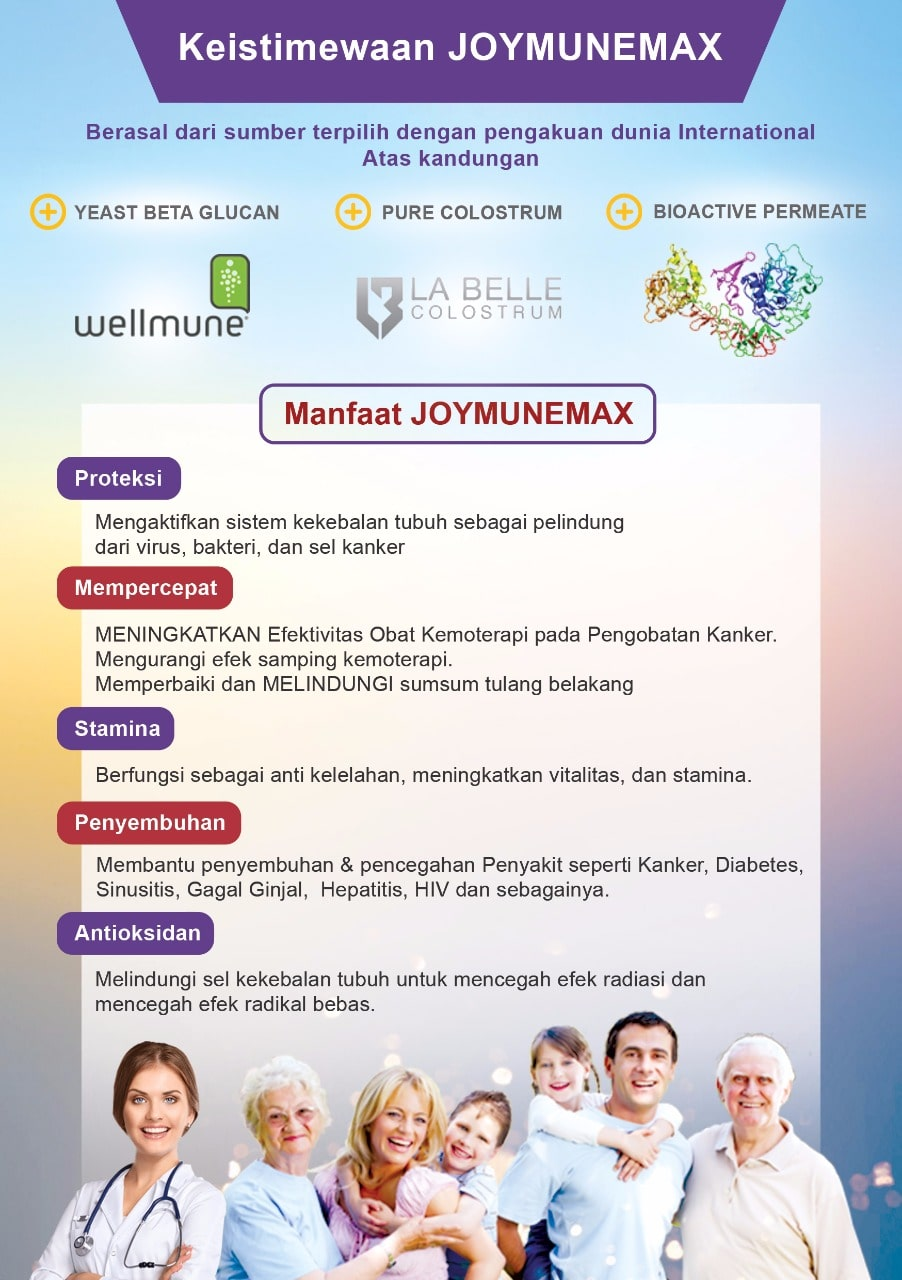 Brosur Joymunemax Manfaat dan Keistimewaan