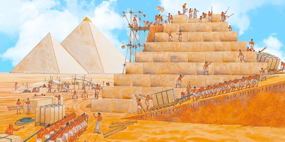 Тайны строительства пирамид в Египте