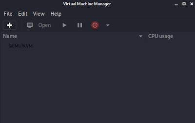 KVM in Kali Linux