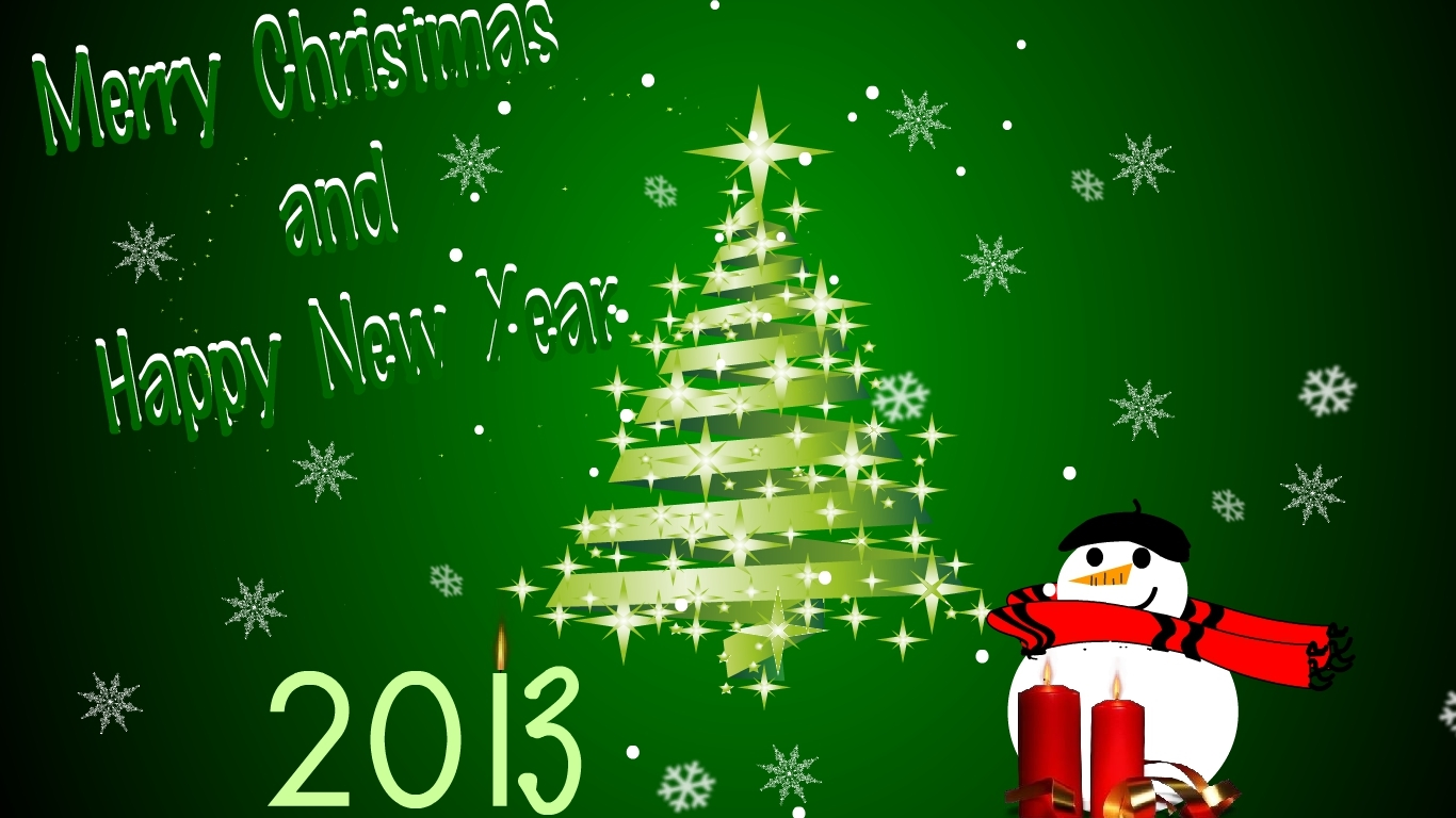 Merry Christmas And Happy New Year 2013.6 Free New Year Cards For Download 2014