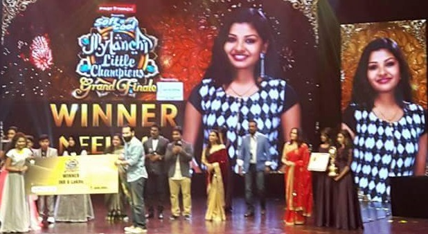 Neelima is the title winner of Mylanchi Little Champions