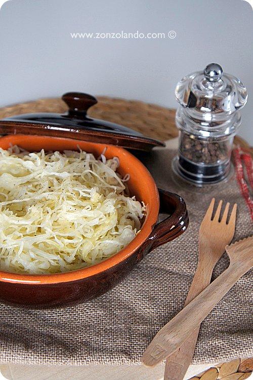 Come preparare i crauti in casa ricetta e metodo homemade recipe cavoli cappucci