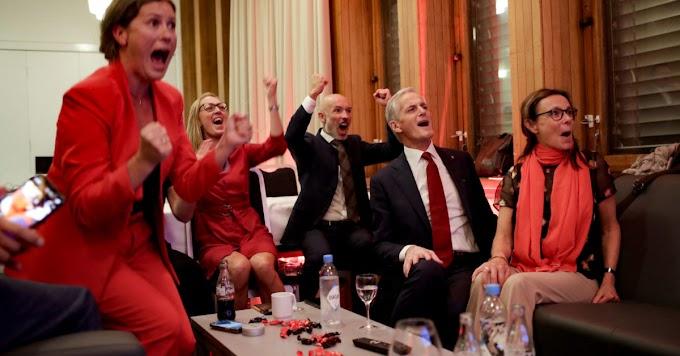 Az ellenzék nyerte a választásokat Norvégiában, balközép kormány alakulhat