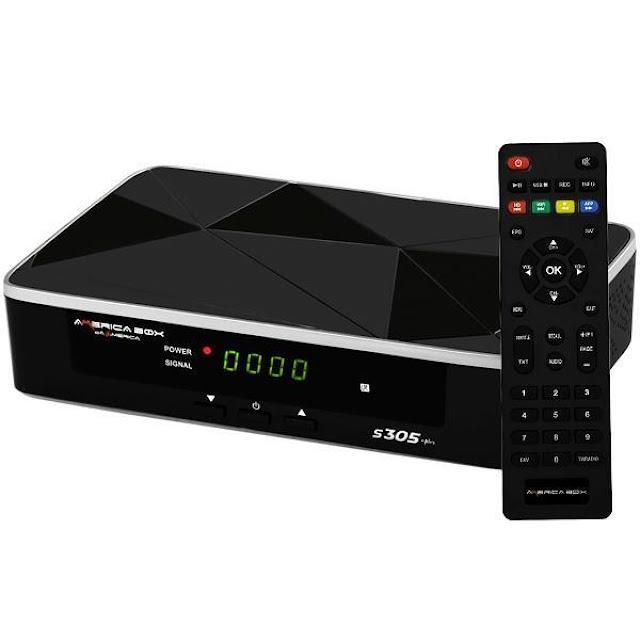 Americabox S305 + Plus Atualização V1.31 - 24/05/2021