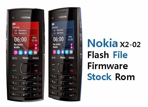 Nokia X2-02 RM-694 Flash File Stock Firmware ROM (Download)