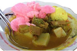 Resep Ketupat Sayur Nangka Khas Padang