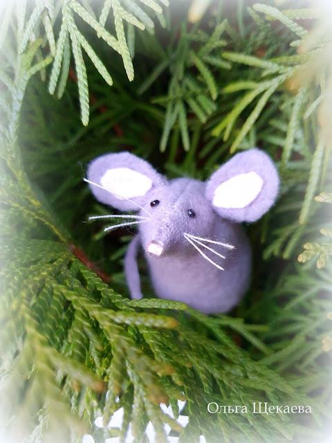 мышь, мышонок, игрушка, серенький, символгода, 2020,