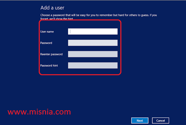 add a user account