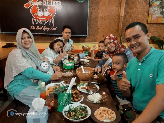 Oemah Kepiting, Warung Seafood di Denpasar Murah Meriah?