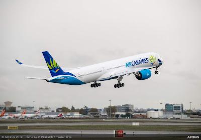 Airbus A350-1000, F-HMIL, Air Caraïbes