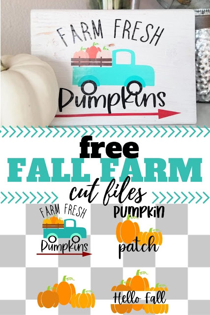Download the free pumpkin svg file and old fashioned vintage truck svg