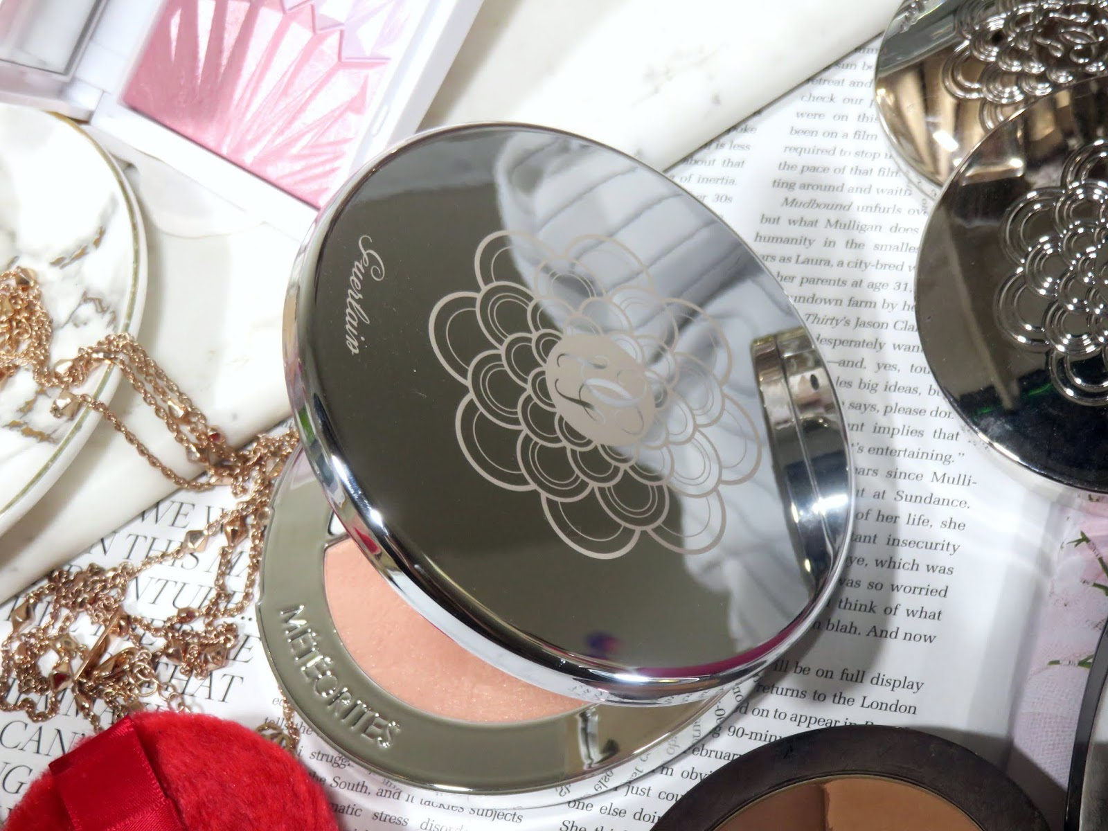 Guerlain Meteorites Highlighter Palette Review and Swatches