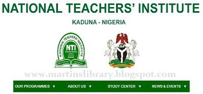 National Teachers Institute Kaduna (NTI)