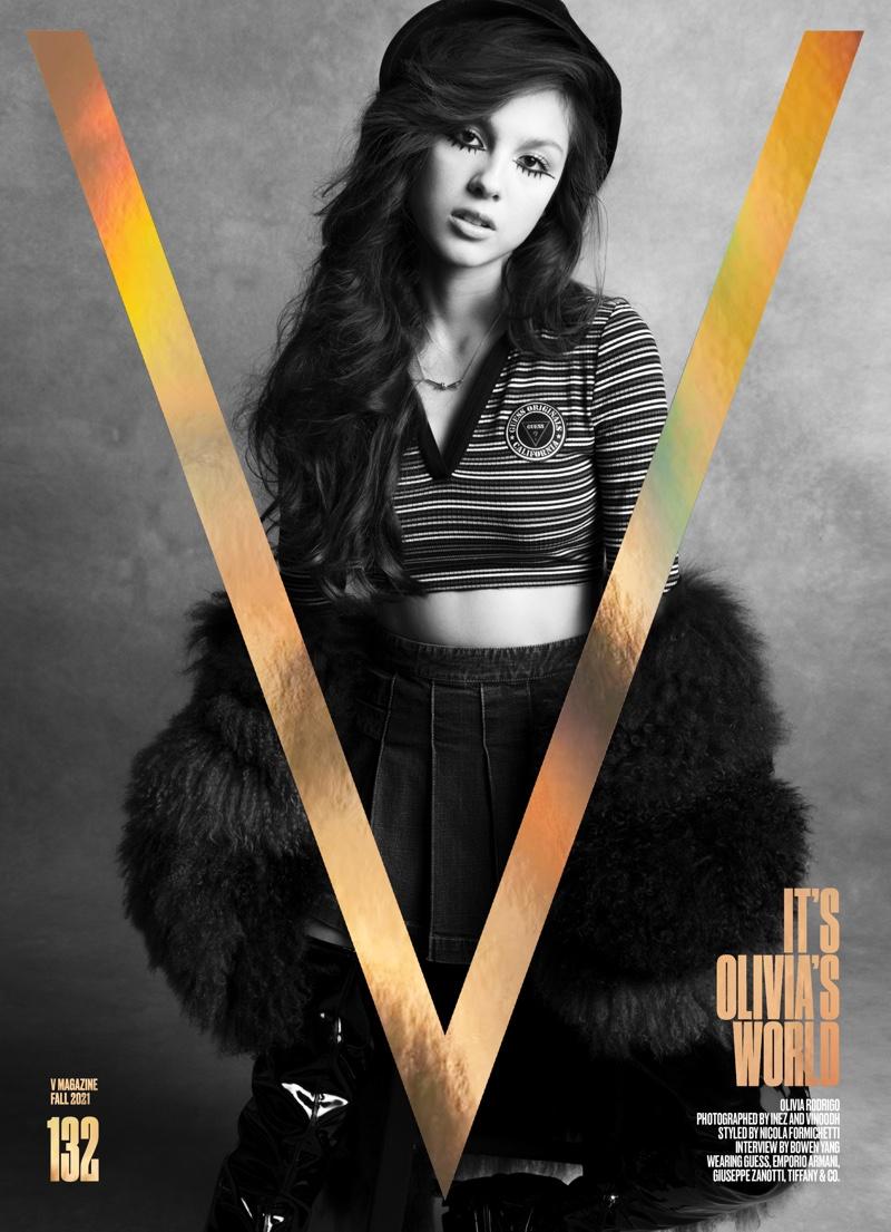 Olivia Rodrigo Wears Retro Style for V Magazine