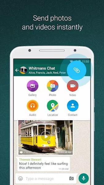 WhatsApp Messenger (MOD, Many Features)