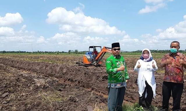 Distan Pulang Pisau Petakan Lokasi Perluasan Program Food Estate