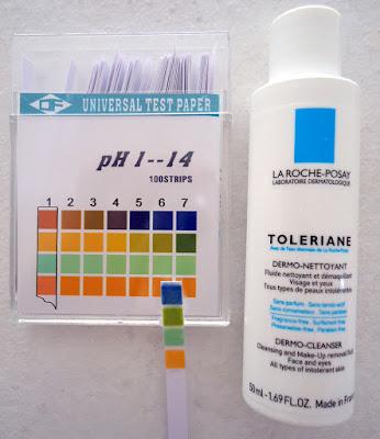 pH de limpiador Toleriane de La Roche-Posay