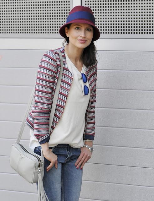fall, fall style, autumn style, poznań streetstyle, street style, streetstyle jesien, tressore, kapelusz, my-bag, bordowe szpilki, marynarka, modna marynarka, stylizacje, blog moda, moda blog, moda jesien,