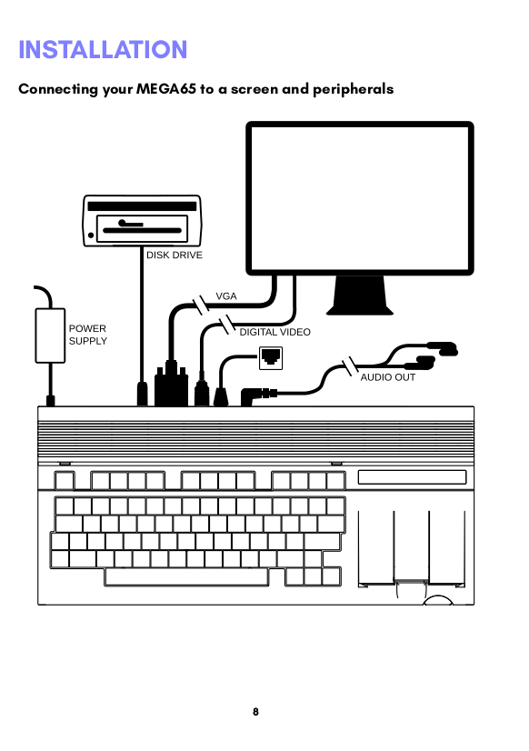 Making a C64/C65 compatible computer: Guest post from