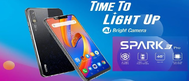 Tecno Spark 3 Pro Specifications, features and full details