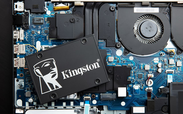 kingston ssd and laptop