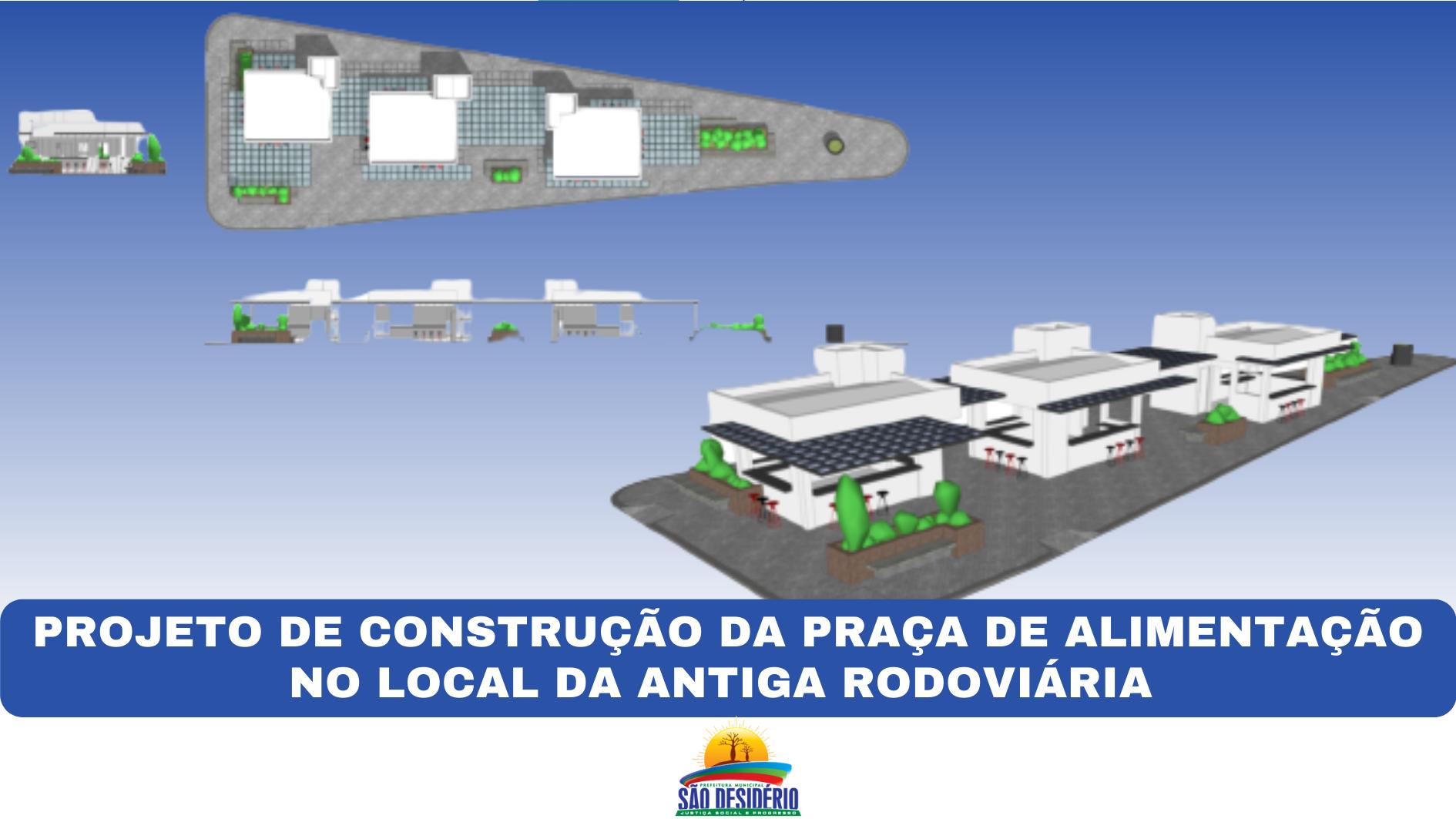 Prefeitura construirá Praça de Alimentação na sede de São Desidério