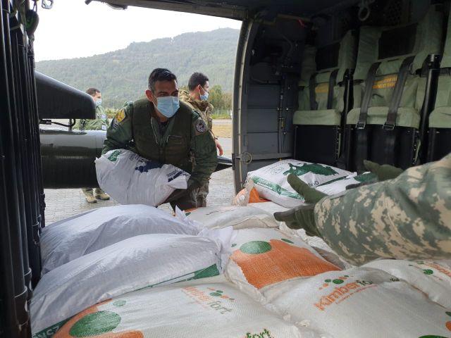 Operativo FACh en Cochamó