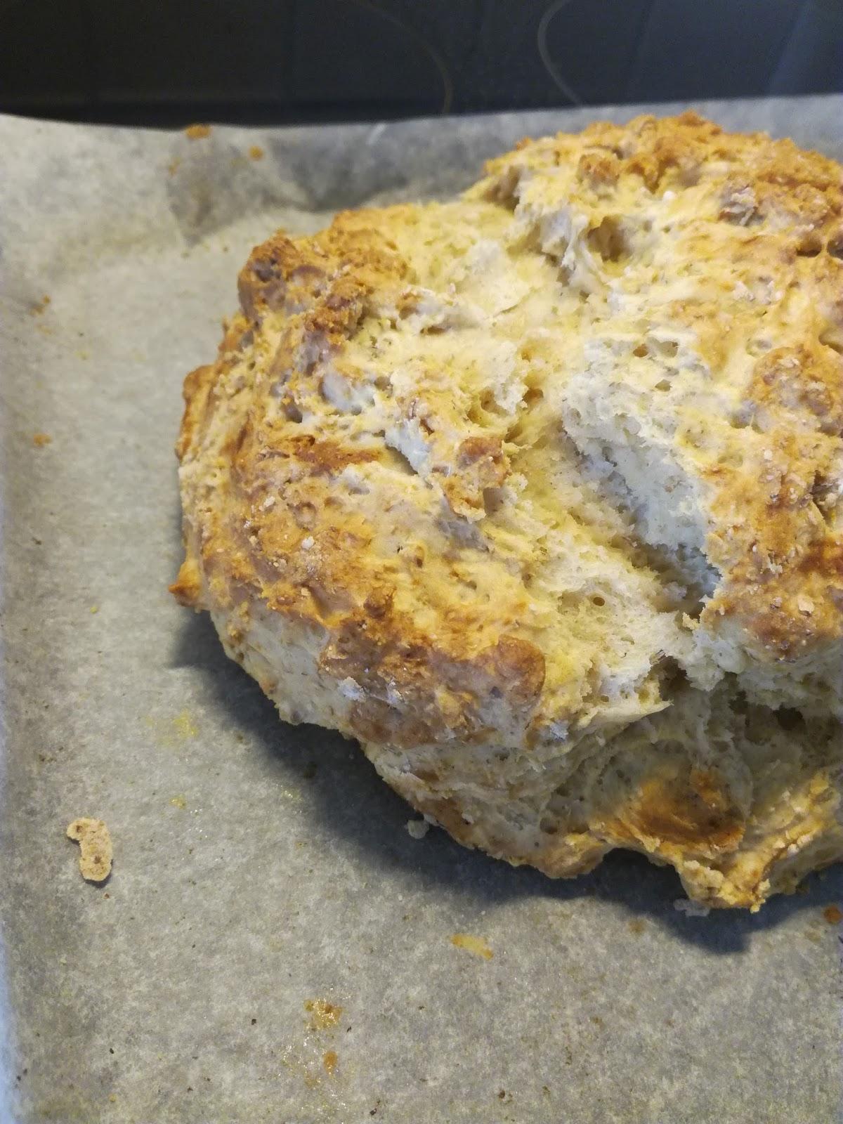 leipä ilman hiivaa
