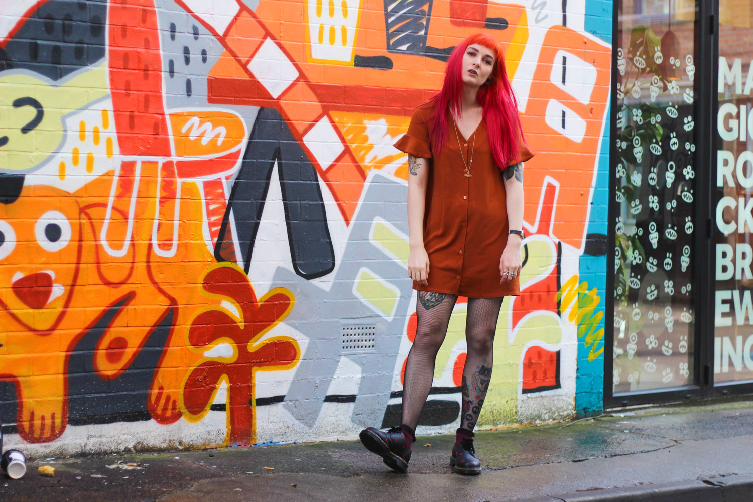 Alternative Style Blogger Foxxtailz in Nastygal