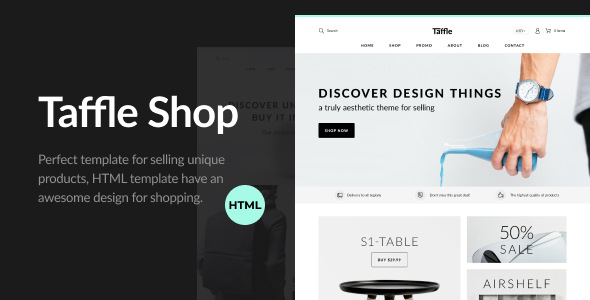 Clean eCommerce Shop HTML Template